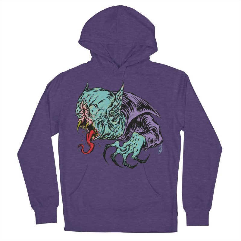 Blood Sucking Freak Men's French Terry Pullover Hoody by Nick the Hat