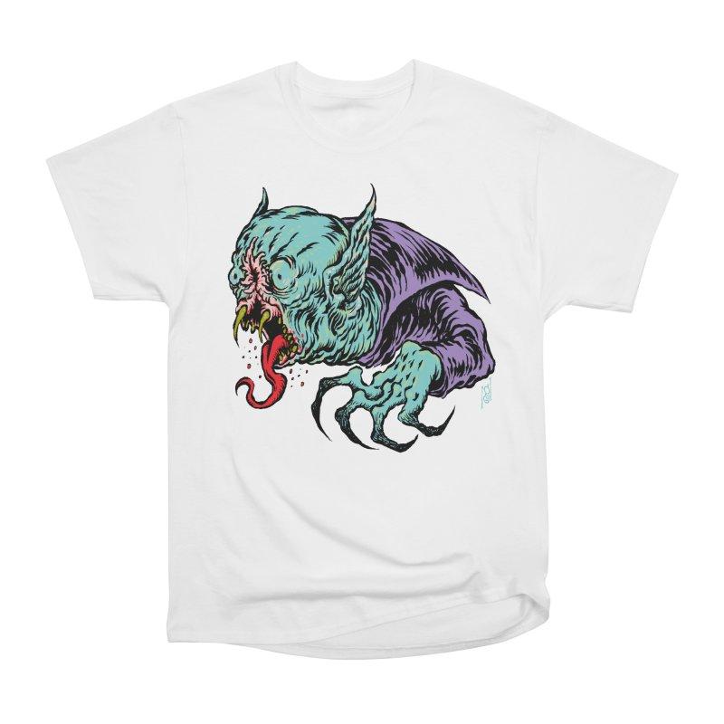 Blood Sucking Freak Men's Heavyweight T-Shirt by Nick the Hat