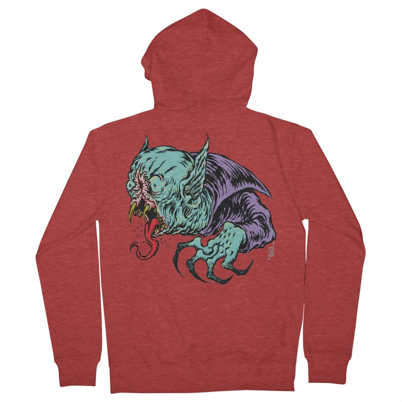 Blood Sucking Freak Men's French Terry Zip-Up Hoody by Nick the Hat