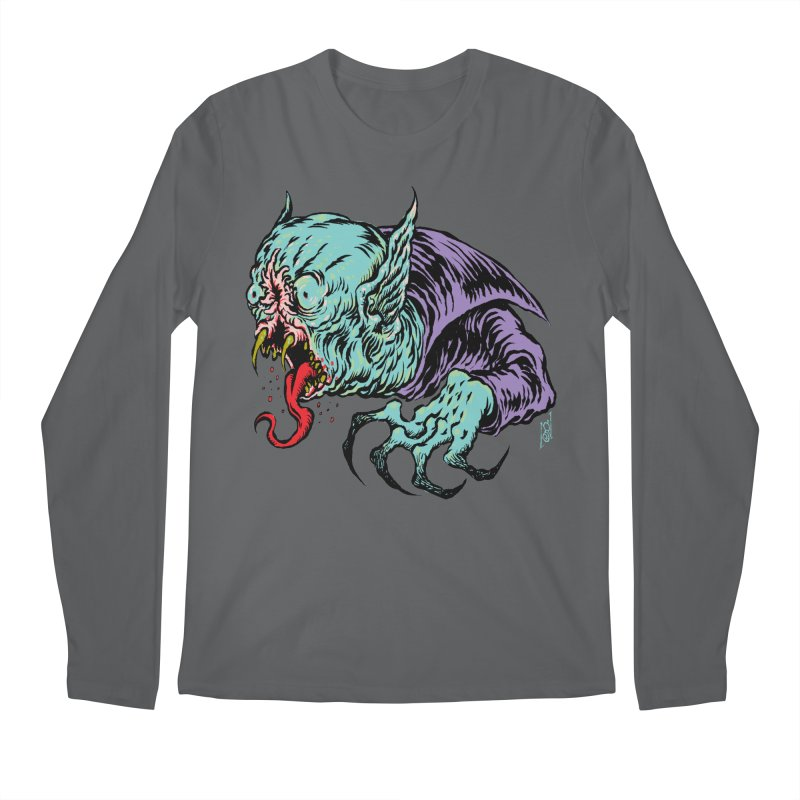 Blood Sucking Freak Men's Longsleeve T-Shirt by Nick the Hat