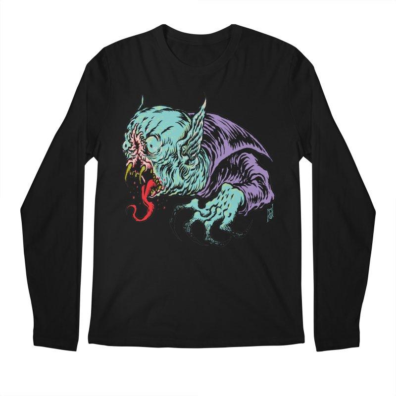 Blood Sucking Freak Men's Regular Longsleeve T-Shirt by Nick the Hat