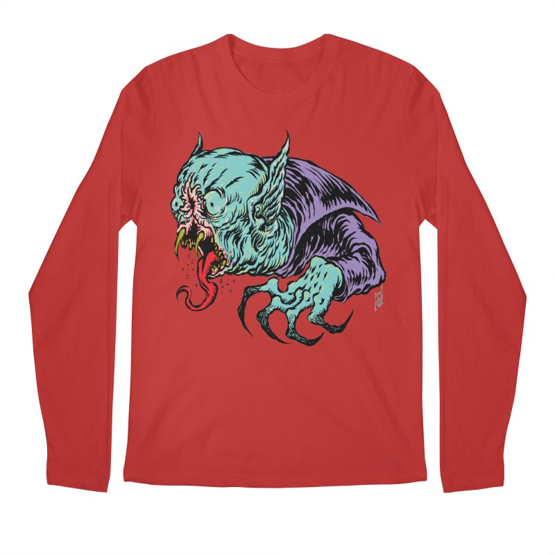 Blood Sucking Freak Men's Regular Longsleeve T-Shirt by Nick the Hat