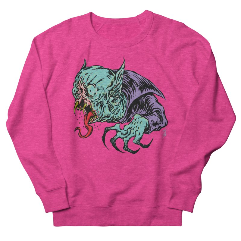 Blood Sucking Freak Women's French Terry Sweatshirt by Nick the Hat