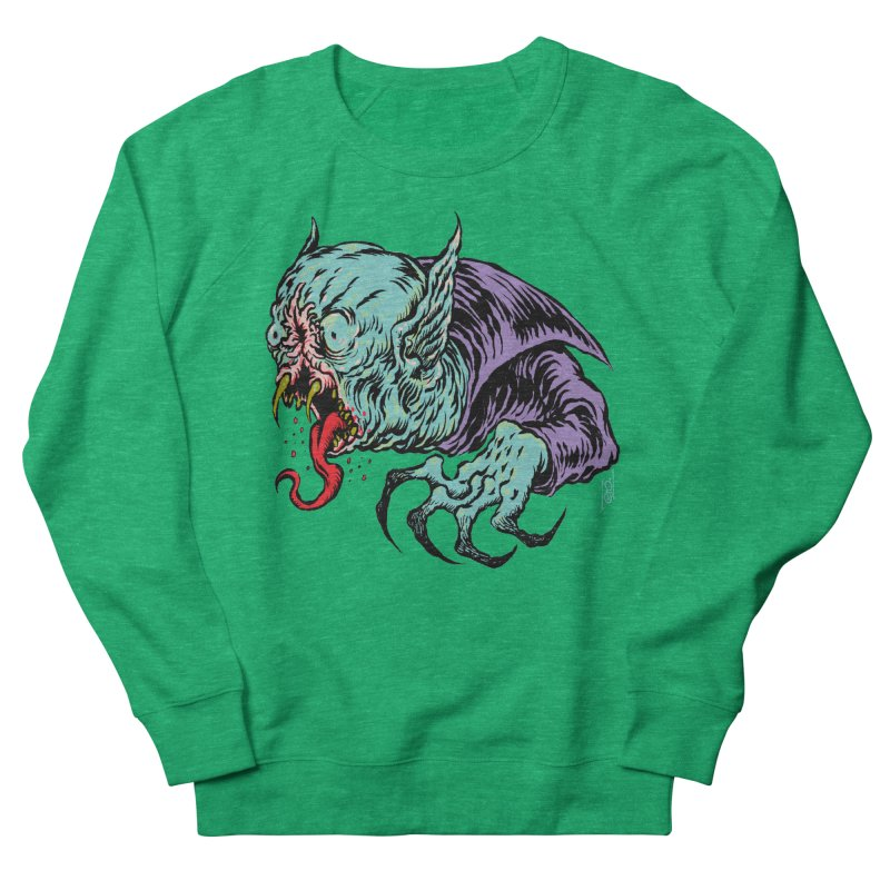 Savage Vampire Men's Sweatshirt by Nick the Hat