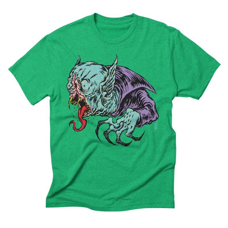 Blood Sucking Freak Men's Triblend T-Shirt by Nick the Hat