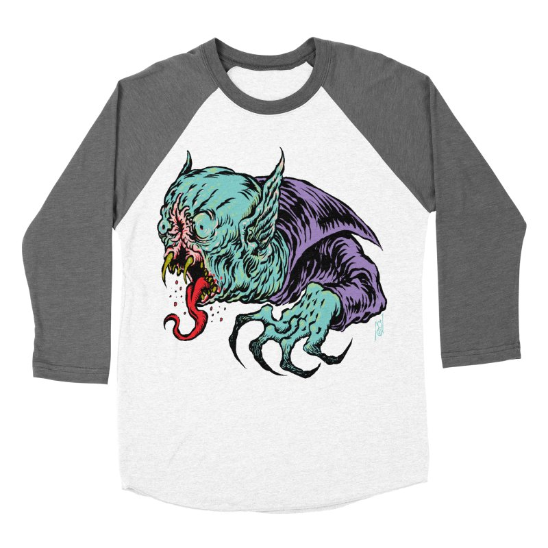 Blood Sucking Freak Women's Baseball Triblend Longsleeve T-Shirt by Nick the Hat