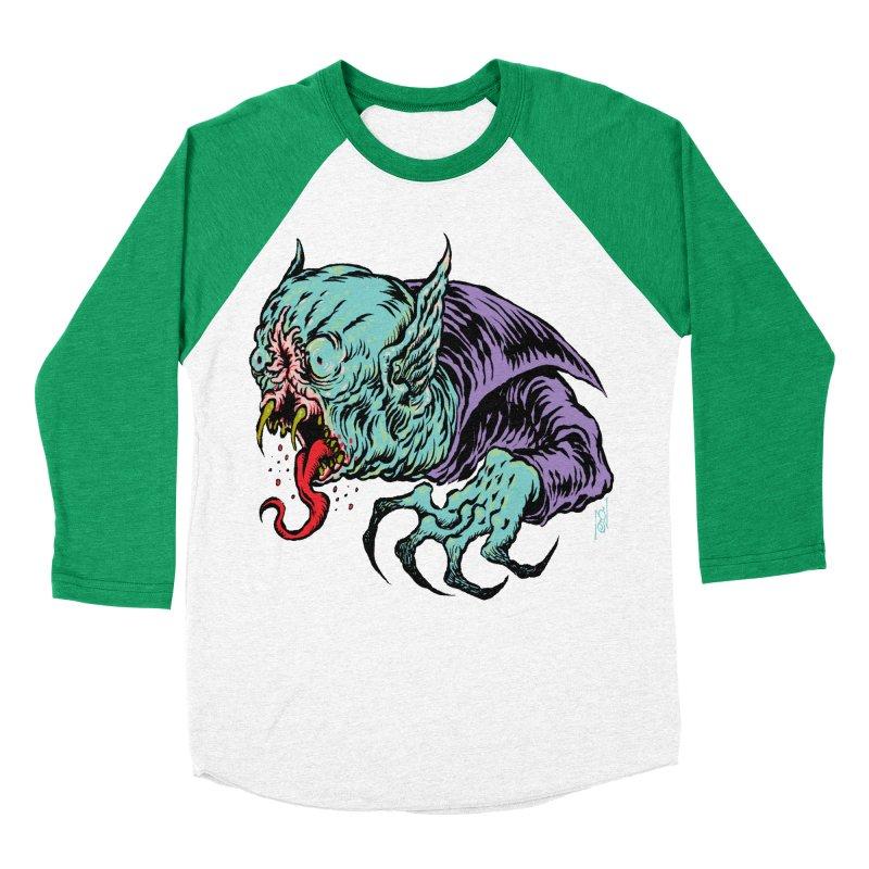 Blood Sucking Freak Women's Baseball Triblend Longsleeve T-Shirt by Nick the Hat