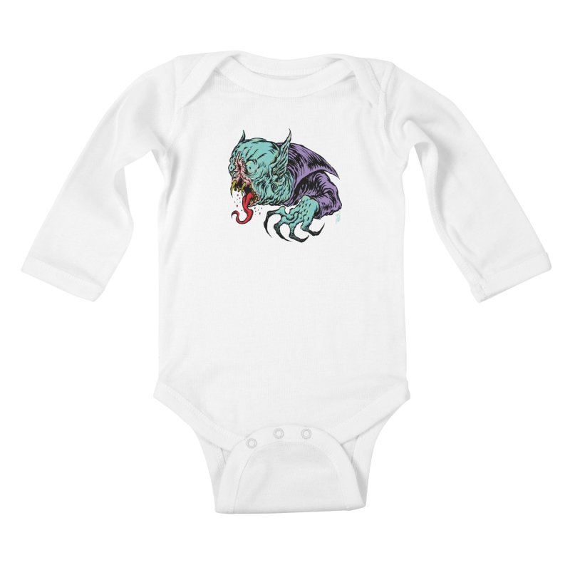 Blood Sucking Freak Kids Baby Longsleeve Bodysuit by Nick the Hat