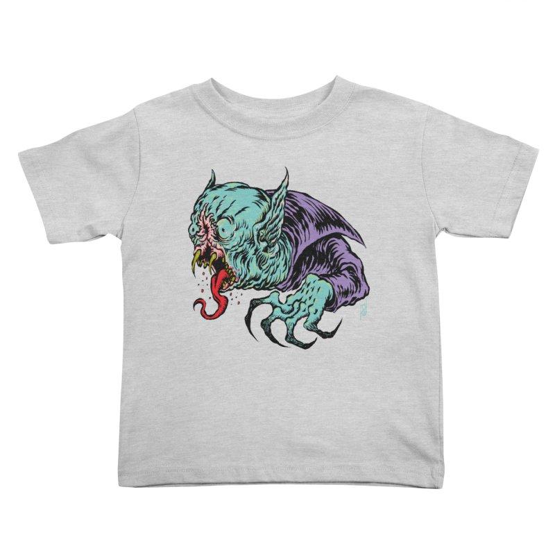 Savage Vampire Kids Toddler T-Shirt by Nick the Hat