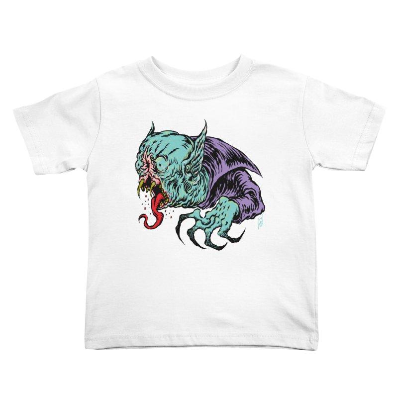 Blood Sucking Freak Kids Toddler T-Shirt by Nick the Hat
