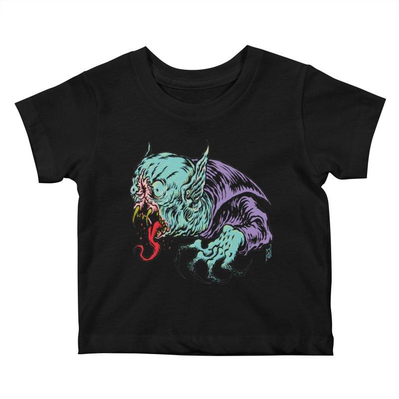 Blood Sucking Freak Kids Baby T-Shirt by Nick the Hat