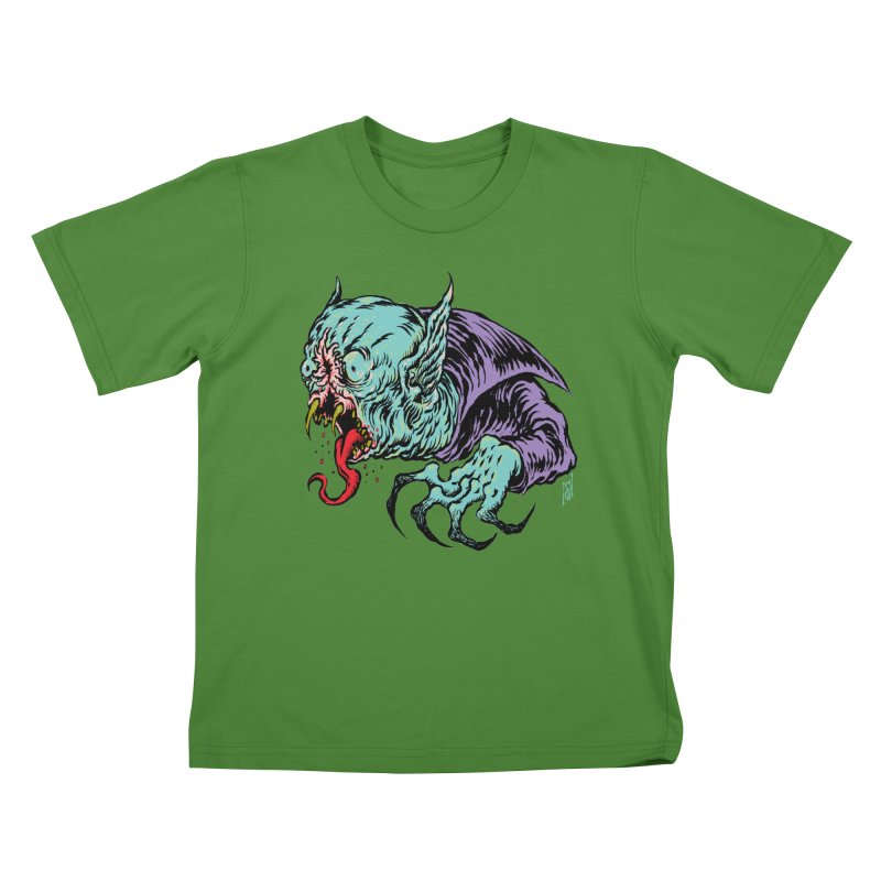 Savage Vampire Kids T-Shirt by Nick the Hat