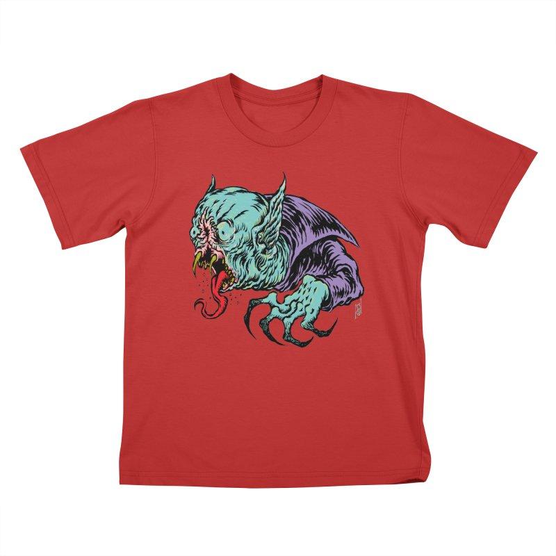 Blood Sucking Freak Kids T-Shirt by Nick the Hat