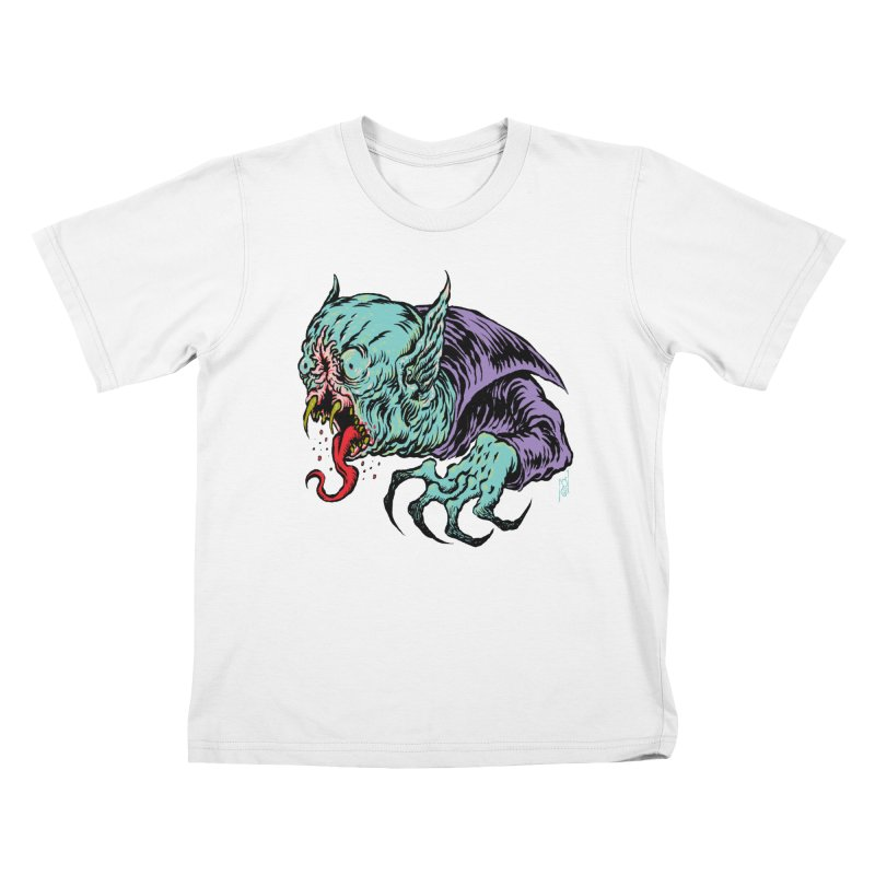 Blood Sucking Freak Kids T-Shirt by Nick the Hat