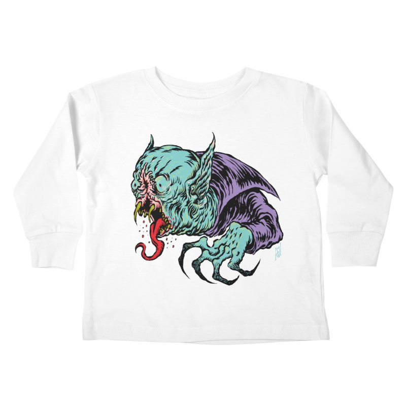 Blood Sucking Freak Kids Toddler Longsleeve T-Shirt by Nick the Hat