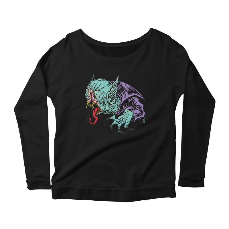 Blood Sucking Freak Women's Longsleeve T-Shirt by Nick the Hat