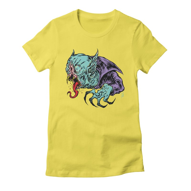 Blood Sucking Freak Women's Fitted T-Shirt by Nick the Hat