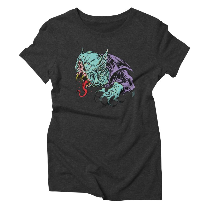 Savage Vampire Women's Triblend T-Shirt by Nick the Hat