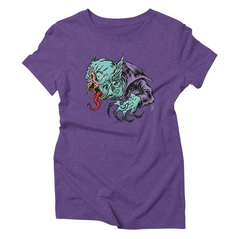 Blood Sucking Freak Women's Triblend T-Shirt by Nick the Hat