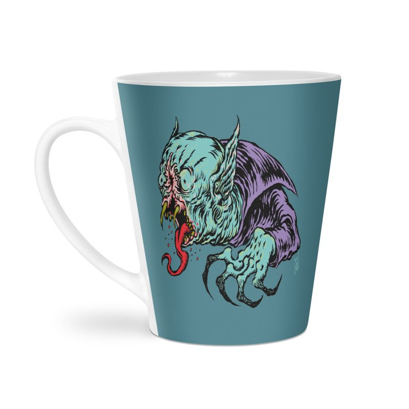 Blood Sucking Freak Accessories Latte Mug by Nick the Hat