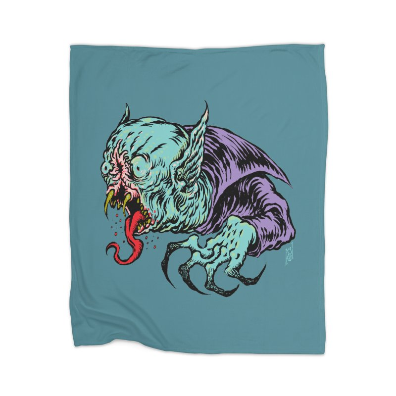 Blood Sucking Freak Home Blanket by Nick the Hat