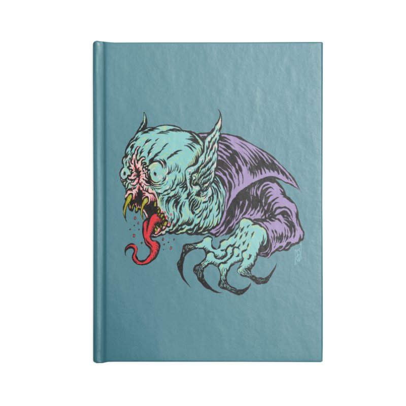 Savage Vampire Accessories Notebook by Nick the Hat