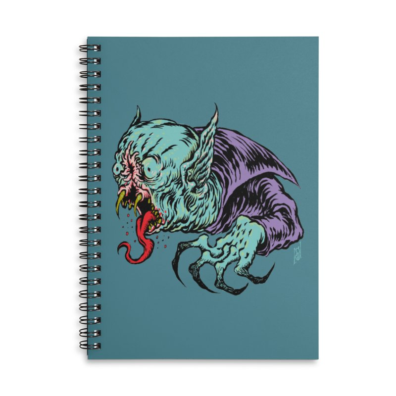 Blood Sucking Freak Accessories Lined Spiral Notebook by Nick the Hat
