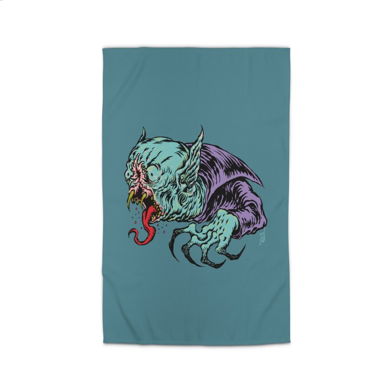 Savage Vampire Home Rug by Nick the Hat