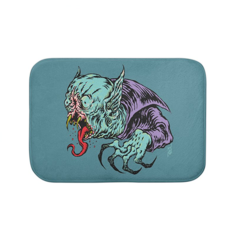 Blood Sucking Freak Home Bath Mat by Nick the Hat