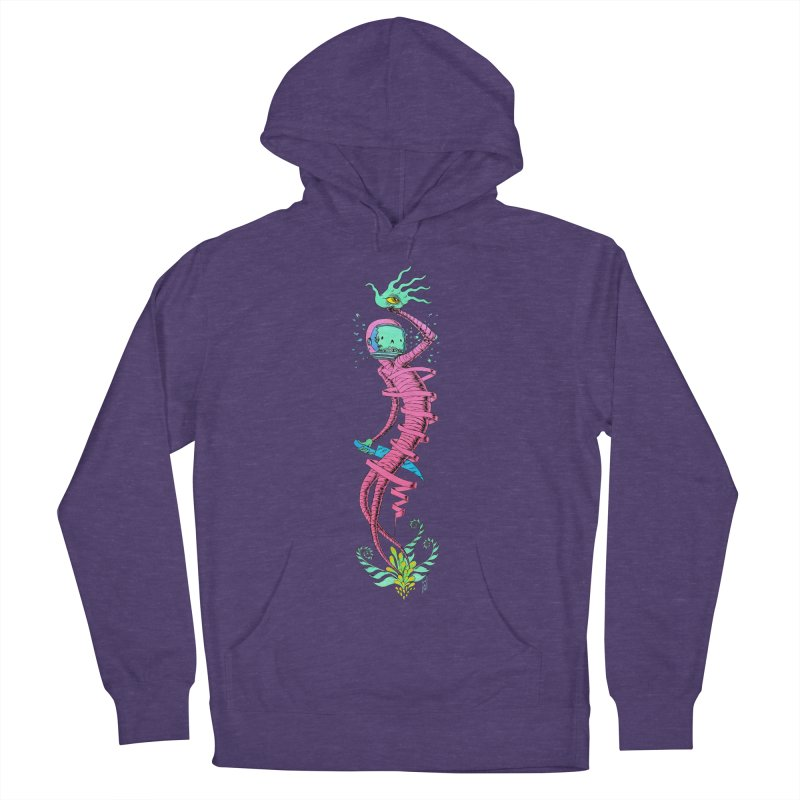Cosmic Paradigm Traveler Women's French Terry Pullover Hoody by Nick the Hat