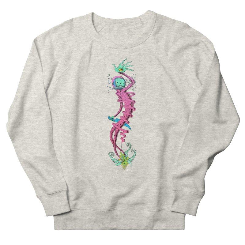 Cosmic Paradigm Traveler Men's French Terry Sweatshirt by Nick the Hat