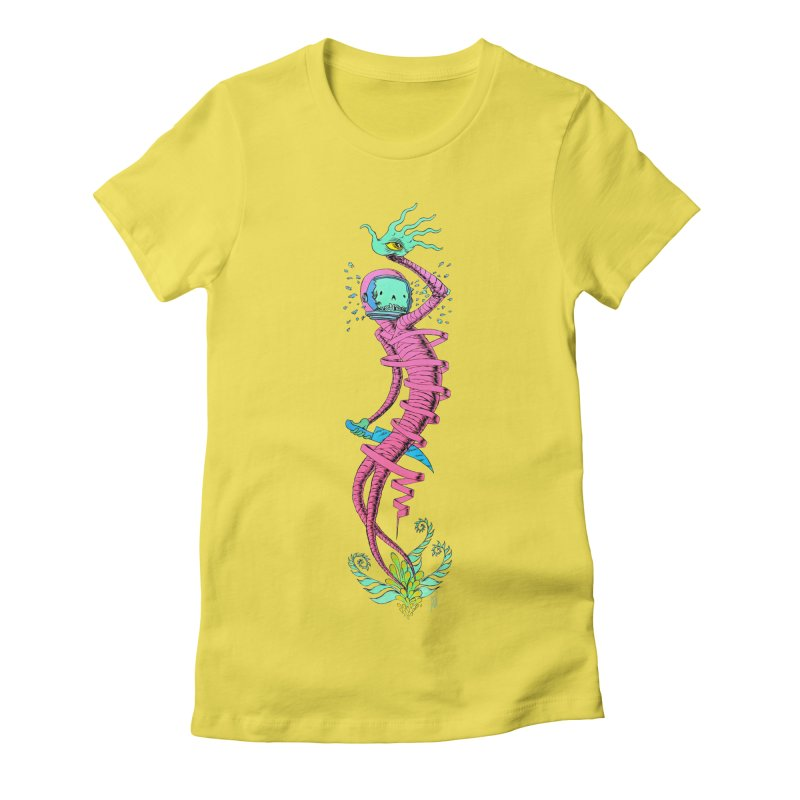 Cosmic Paradigm Traveler Women's T-Shirt by Nick the Hat