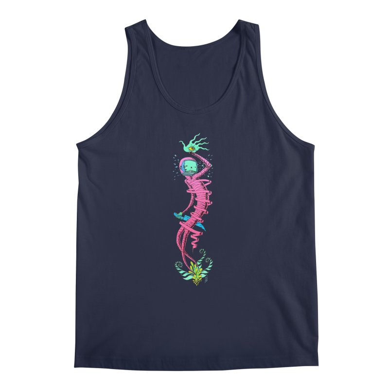 Cosmic Paradigm Traveler Men's Regular Tank by Nick the Hat
