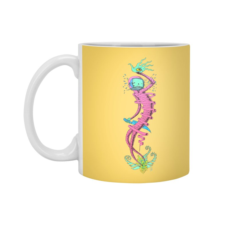 Cosmic Paradigm Traveler Accessories Standard Mug by Nick the Hat