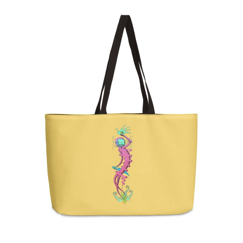 Cosmic Paradigm Traveler Accessories Weekender Bag Bag by Nick the Hat