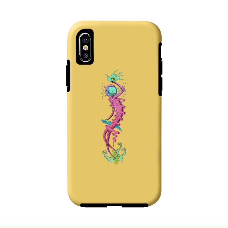 Cosmic Paradigm Traveler Accessories Phone Case by Nick the Hat