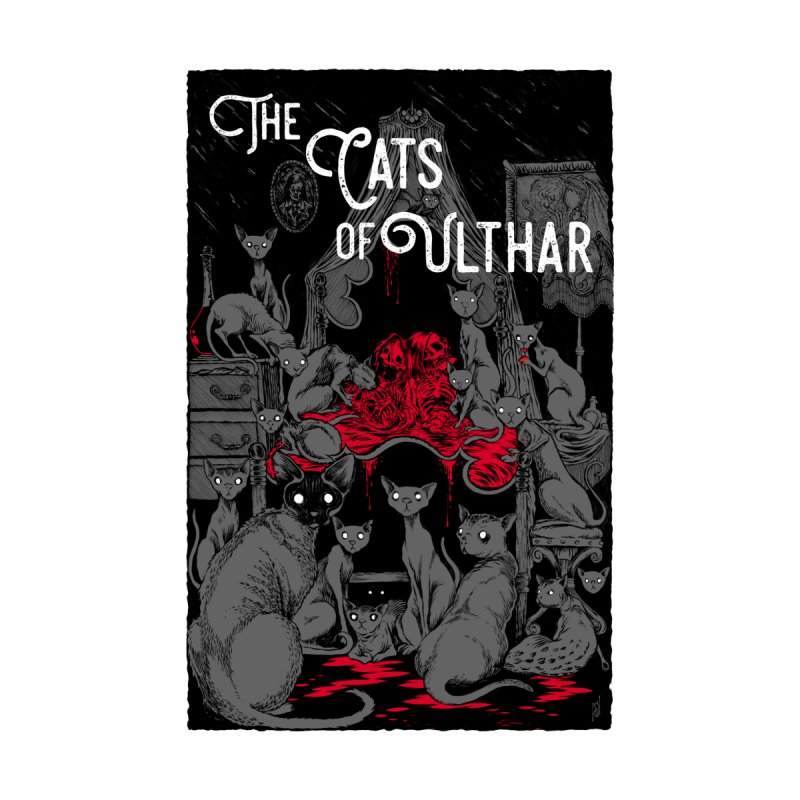 The Cats of Ulthar Men's V-Neck by Nick the Hat