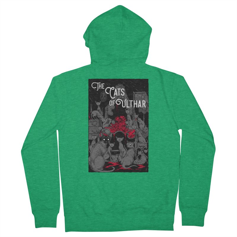 The Cats of Ulthar Women's Zip-Up Hoody by Nick the Hat