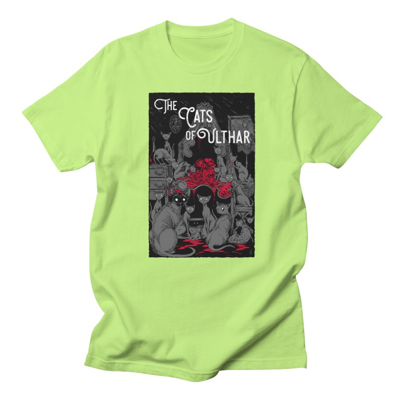 The Cats of Ulthar Men's T-Shirt by Nick the Hat