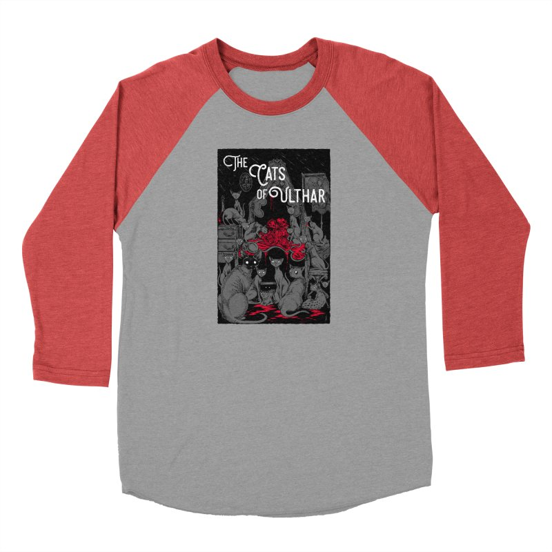 The Cats of Ulthar Women's Baseball Triblend Longsleeve T-Shirt by Nick the Hat