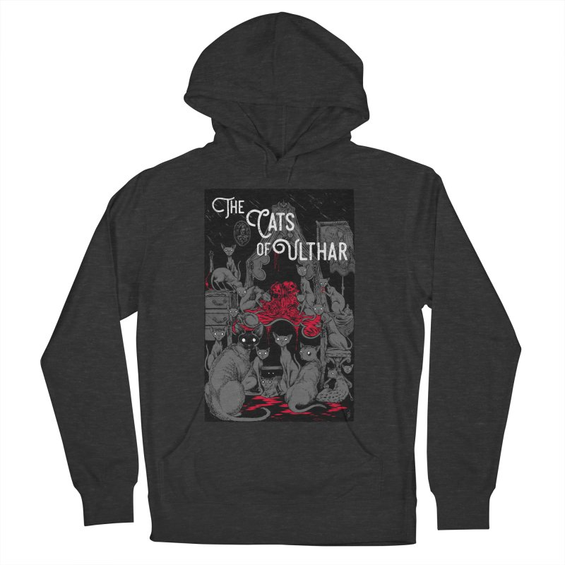The Cats of Ulthar Men's French Terry Pullover Hoody by Nick the Hat