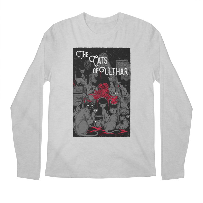 The Cats of Ulthar Men's Regular Longsleeve T-Shirt by Nick the Hat