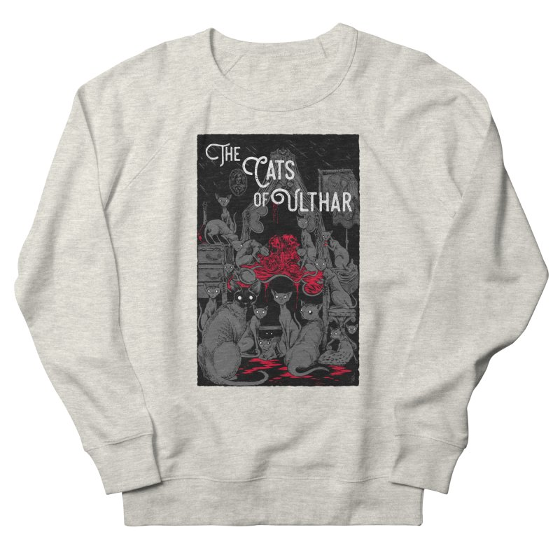 The Cats of Ulthar Men's French Terry Sweatshirt by Nick the Hat