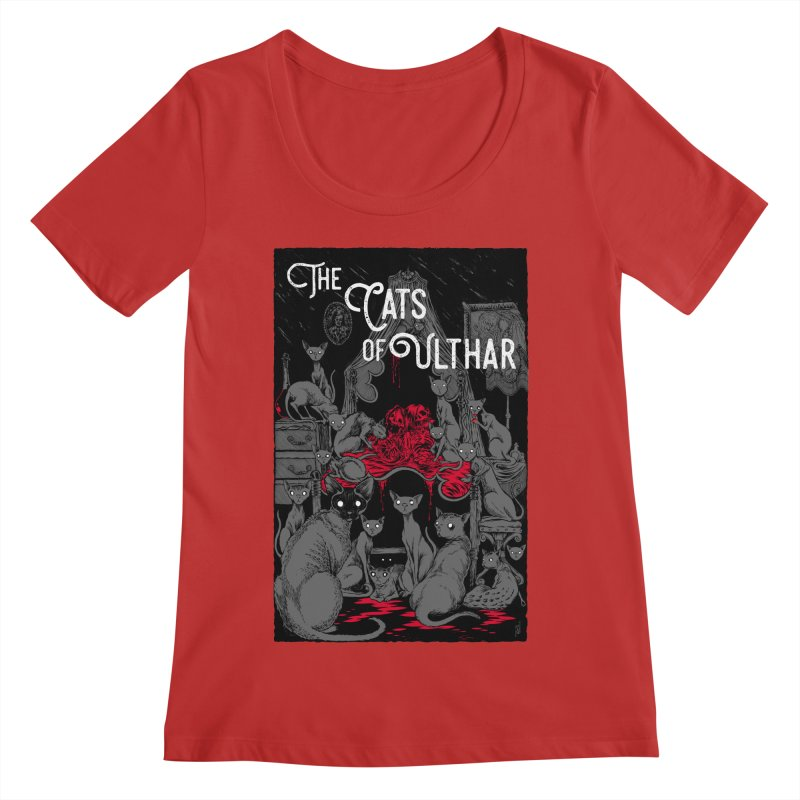 The Cats of Ulthar Women's Regular Scoop Neck by Nick the Hat