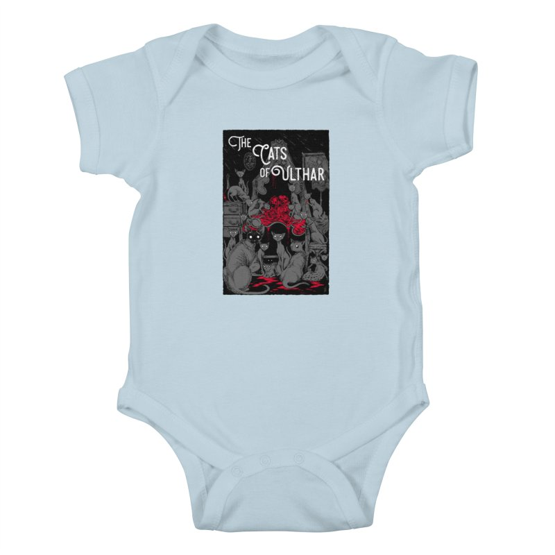 The Cats of Ulthar Kids Baby Bodysuit by Nick the Hat