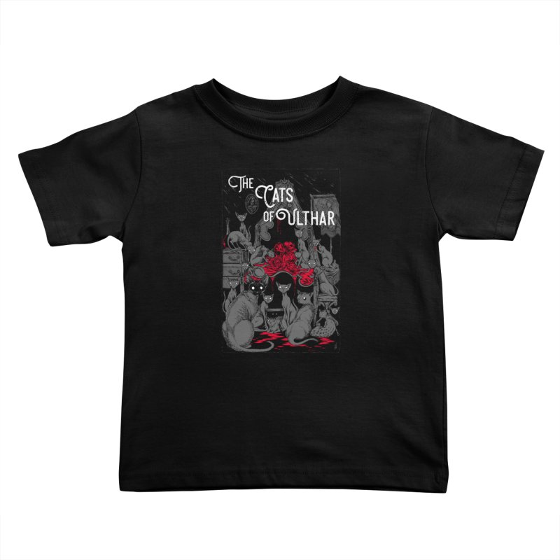 The Cats of Ulthar Kids Toddler T-Shirt by Nick the Hat