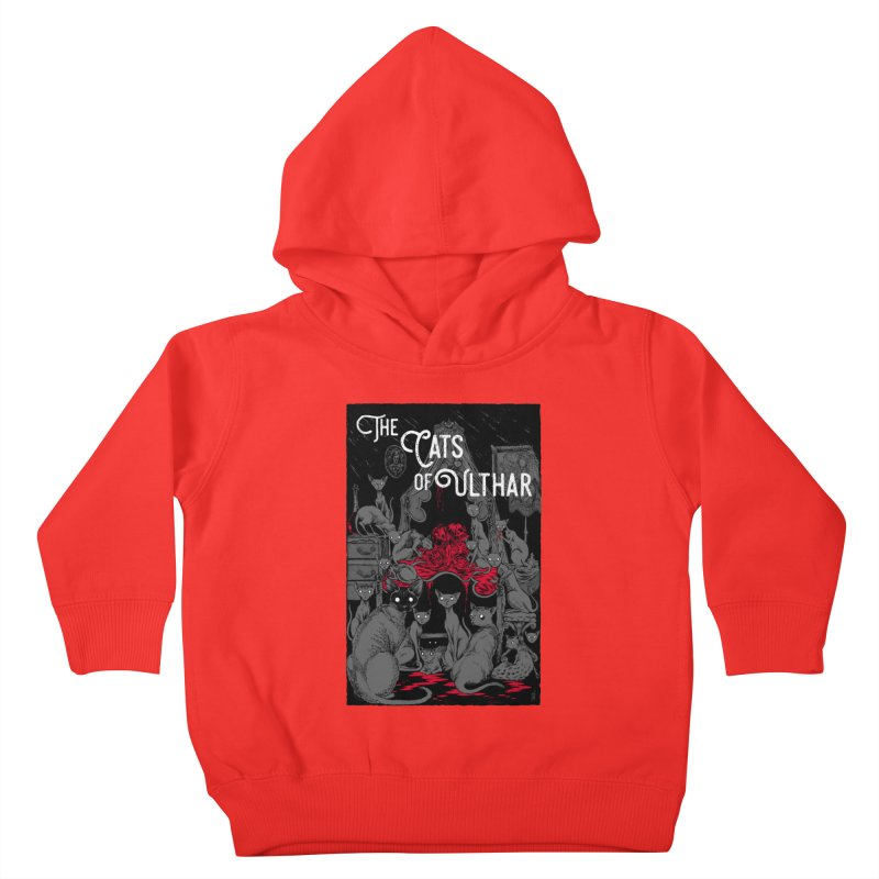 The Cats of Ulthar Kids Toddler Pullover Hoody by Nick the Hat