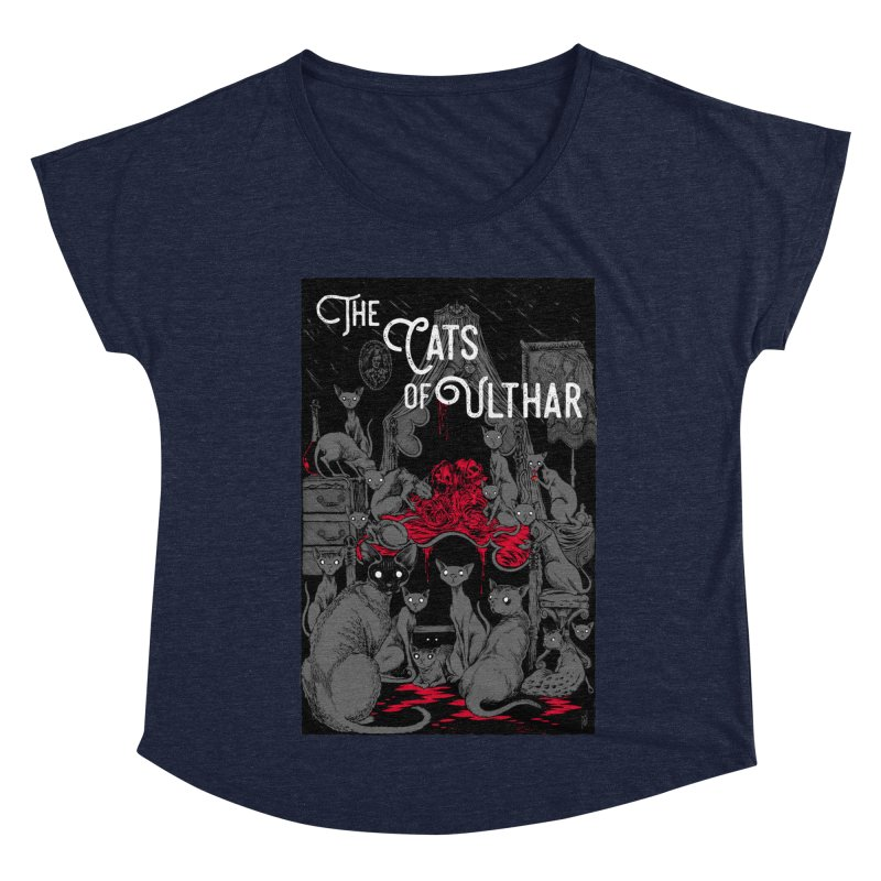 The Cats of Ulthar Women's Dolman Scoop Neck by Nick the Hat