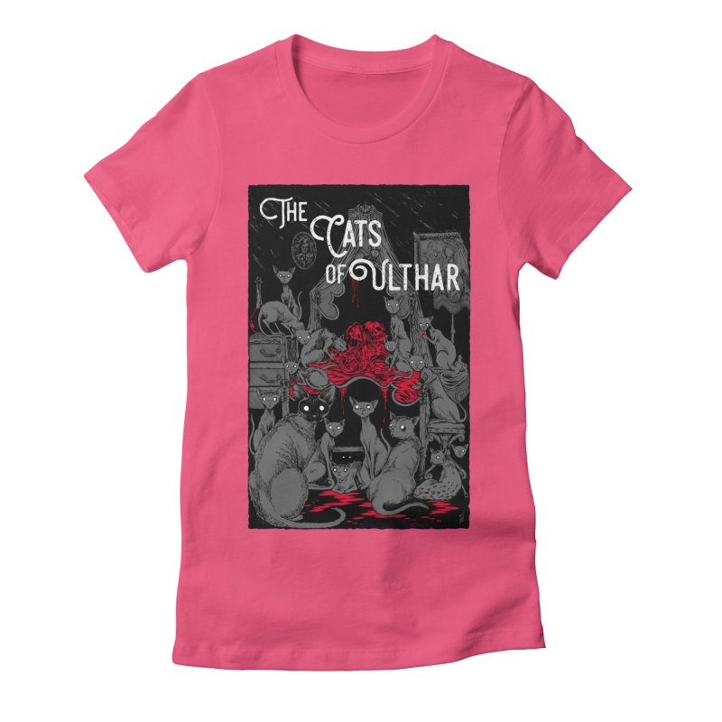 The Cats of Ulthar Women's T-Shirt by Nick the Hat