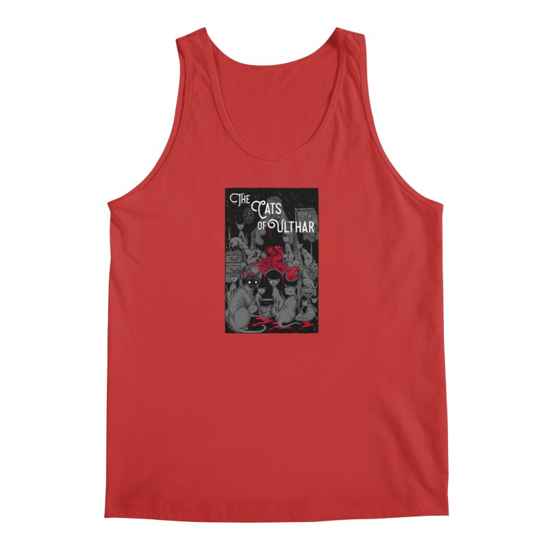 The Cats of Ulthar Men's Tank by Nick the Hat